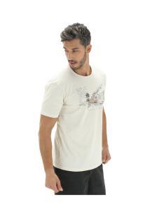 Camiseta Timberland Vintage City - Masculina - Bege