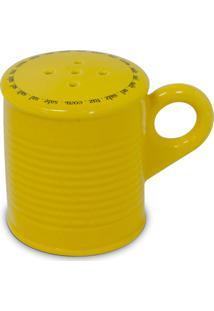 Saleiro Lata 90Gr – Mondoceram Gourmet - Amarelo