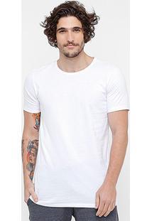 Camiseta Kohmar Básica Alongada Masculina - Masculino