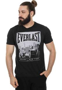 Camiseta Everlast New York Preta