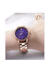 Relógio Analógico Philiph London Feminino - Pl81015113F Rosê