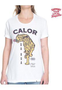 Bloco Calor Da Rua - 2019 - Camiseta Basicona Unissex