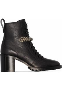 Jimmy Choo Ankle Boot 'Cruz' 65Mm - Preto