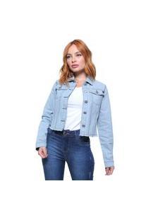 Jaqueta Jeans Feminina Crocker - 47513