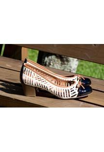 Sapato Cap Toe Dm Extra Rendado A Laser Off White Dme17642425 Numeração Especial Tamanhos Grandes 41 42 43