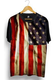 Camiseta Bsc Usa Full Print - Masculino