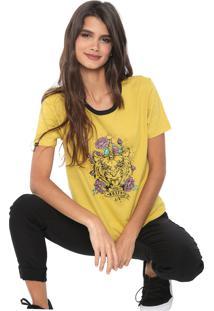 Camiseta Rusty Eastern Amarela - Kanui