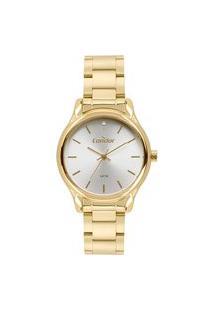 Relógio Condor Feminino Clássico Analógico Dourado Co2035Fbyk4B