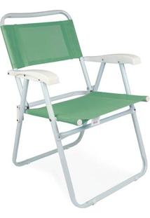 Cadeira Master Aço Fashion - Anis - Unissex-Verde Claro