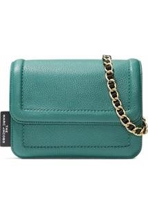 Marc Jacobs Bolsa The Cushion Mini - Verde