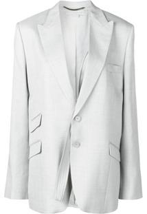 Stella Mccartney Blazer Com Mangas Removíveis - Cinza
