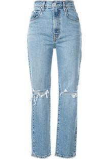 Nobody Denim Calça Jeans Slim Frankie Ankle - Azul