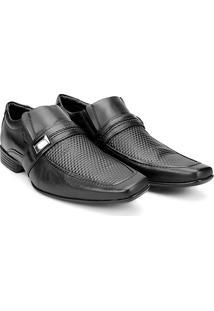 Sapato Social Couro Mariner Lance - Masculino-Preto