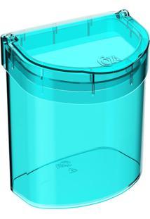 Lixeira De Pia Glass 2,7 Litros Verde Coza