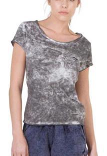Camiseta Slim Brohood Mix Feminina - Feminino