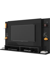 Painel Para Tv Até 55 Polegadas Malbec Chumbo - Belaflex