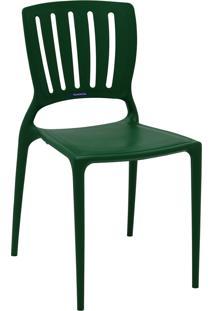 Cadeira Tramontina 92035120 Sofia Vt Encosto Vazado Horizontal Verde