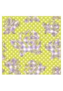 Papel De Parede Autocolante Rolo 0,58 X 3M - Flores Bolinhas 98767909