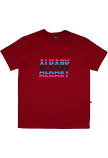 Camiseta Alkary Logotipia Vermelha