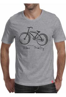Camiseta Casual Sport Urban Mobility Cinza