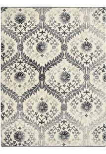 Tapete Grey And White- Cinza Escuro & Branco- 6X250Xtapete Sã£O Carlos