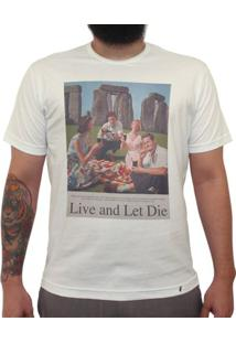 Live And Let Die - Camiseta Clássica Masculina
