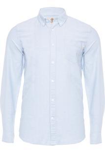 Camisa Masculina Pleasant River - Azul