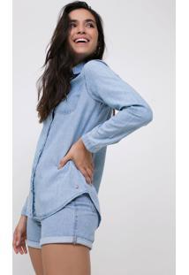 Camisa Jeans Básica