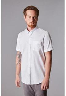 Camisa Reserva Oxford Masculino - Masculino-Branco
