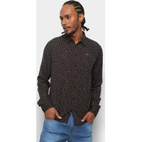 25392e0cd Camisa Colcci Manga Longa Estampada Slim Masculina - Masculino