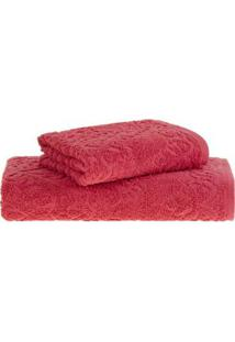 Toalha De Banho Vermelho