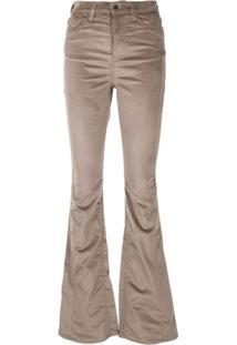 Amiri Calça Jeans Skinny Bootcut - Marrom