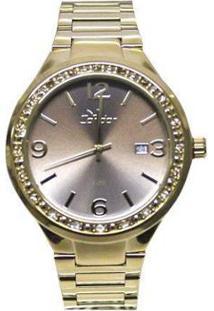 60c47301031 Relógio Digital Dourado Tamanho Grande feminino