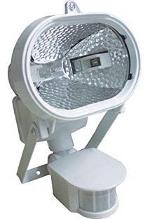 Refletor Holofote Halógeno Com Sensor De Presença - Dni 6017
