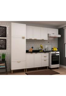 Cozinha Compacta Nevada I 8 Pt 4 Gv Branca