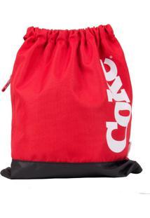 Bolsa Saco Coca-Cola Bold Vermelho T Un