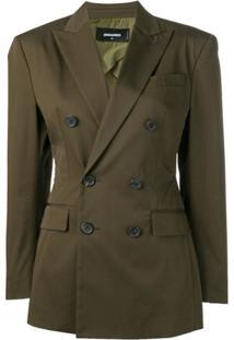 Dsquared2 Blazer Clássico - Green