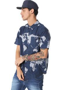 Camisa Element James Azul-Marinho