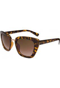 Óculos Ray Flector Oxford Buchingham Rf276 Co Onça