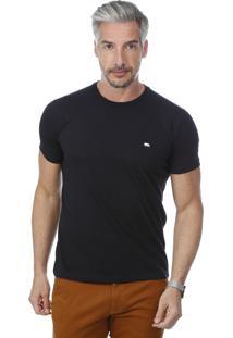 Camiseta Javali Slim Preta