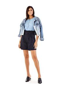 Bermuda Clochard Amaciada Jeans