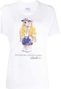 Polo Ralph Lauren Camiseta Polo Bear - Branco