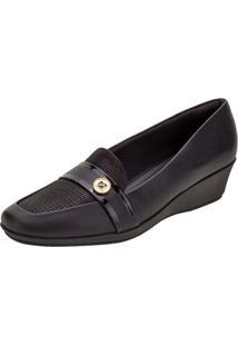 Sapato Feminino Anabela Piccadilly - 144065 Preto 34