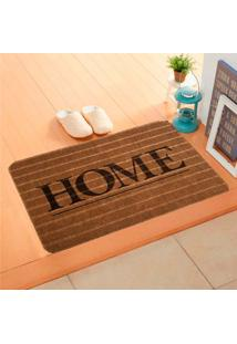 Capacho Carpet Home Marrom