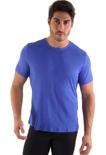 Camiseta Liquido Square - Azul Bic Gg