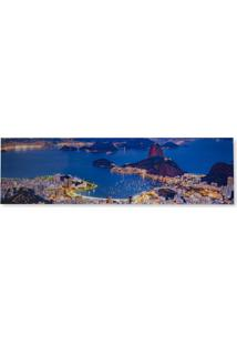 Quadro Rio De Janeiro 50X180Cm