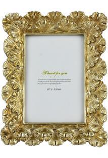 Porta Retrato Dourado Lummy Dourado