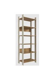 Closet Aberto Com Prateleiras Off White Com Itapuá Completa Móveis
