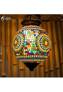 Luminária Pendente Em Mosaico - Gg