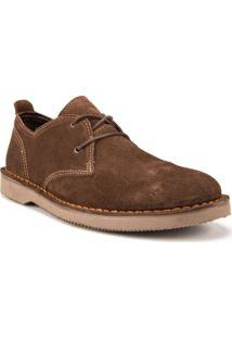 Sapato Masculino Kildare Filey Camurça Marrom